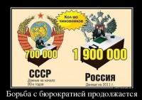 """Борьба"" с бюрократией"