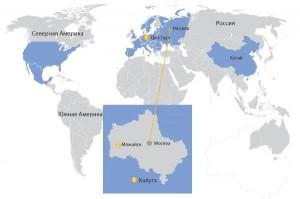Карта Xella